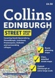 Cover of Collins Edinburgh Streetfinder Atlas