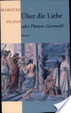 Cover of Über die Liebe oder Platons Gastmahl
