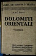 Cover of Dolomiti orientali volume II