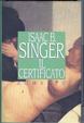 Cover of Il certificato