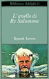 Cover of L'anello di re Salomone
