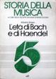 Cover of L'età di Bach e di Haendel