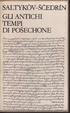 Cover of Gli antichi tempi di Posechone