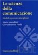 Cover of Le scienze della comunicazione
