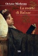 Cover of La morte di Balzac
