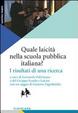 Cover of Quale laicità nella scuola pubblica italiana? I risultati di una ricerca