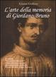 Cover of L'arte della memoria di Giordano Bruno