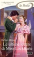Cover of Le ultime lettere di Miss Lockharte