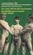 Cover of Per una storia del movimento dei diritti omosessuali