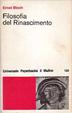 Cover of Filosofia del Rinascimento