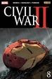 Cover of Civil War II #8