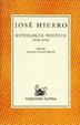 Cover of Antología poética
