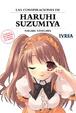 Cover of Las conspiraciones de Haruhi Suzumiya