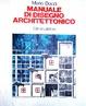 Cover of Manuale di disegno architettonico