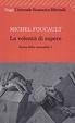 Cover of La volontà di sapere