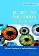 Cover of Multiple View Geometry in Computer Vision
