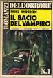 Cover of Il bacio del vampiro