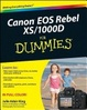 Cover of Canon EOS Rebel Xs/1000D for Dummies