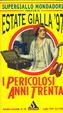Cover of I pericolosi anni Trenta