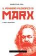 Cover of Il pensiero filosofico di Marx