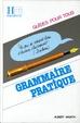 Cover of Grammaire pratique