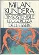 Cover of L'insostenibile leggerezza dell'essere