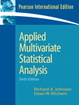 Cover of Applied Multivariate Statistical Analysis