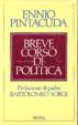 Cover of Breve corso di politica