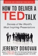 Cover of How to Deliver a TED Talk