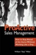 Cover of Proactive Sales Management