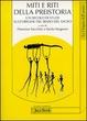 Cover of Miti e riti della preistoria