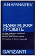 Cover of Fiabe russe proibite