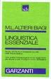 Cover of Linguistica essenziale