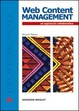 Cover of Web content management