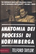 Cover of Anatomia dei processi di Norimberga