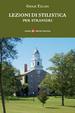 Cover of Lezioni di stilistica per stranieri
