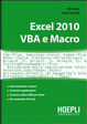 Cover of Excel 2010. VBA e Macro