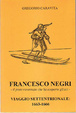 Cover of Francesco Negri