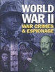 Cover of World War II war crimes and espionage