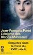 Cover of Les enquêtes de Nicolas Le Floch, commissaire au Châtelet, Tome 1