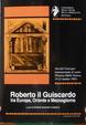 Cover of Roberto il Guiscardo tra Europa, Oriente e Mezzogiorno