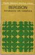 Cover of Introduzione alla metafisica