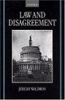 Cover of Law and Disagreement