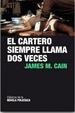 Cover of El cartero siempre llama dos veces
