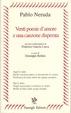 Cover of Venti poesie d'amore e una canzone disperata