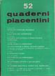 Cover of Quaderni piacentini