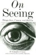 Cover of On seeing