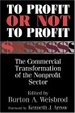 Cover of To Profit or Not to Profit