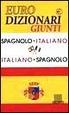 Cover of Dizionario spagnolo-italiano, italiano-spagnolo