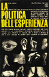 Cover of La politica dell'esperienza